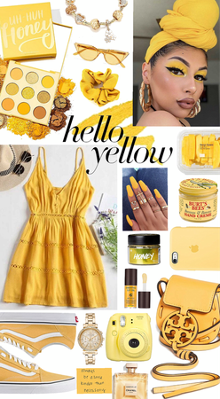 Hello Yellow💛✨