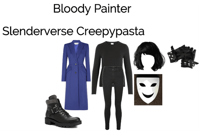 Bloody Painter (Slenderverse Creepypasta)
