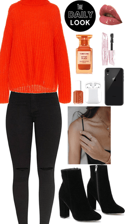 Simple Cute Fall Winter Outfit