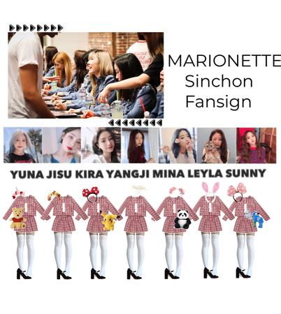 {MARIONETTE} Sinchon Fansign