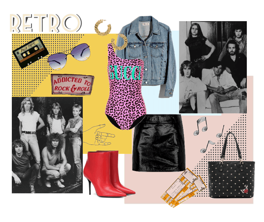 Rock and Retro: Statement Body Suit
