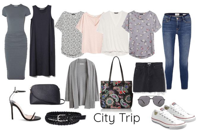 minimalist packing list: city trip