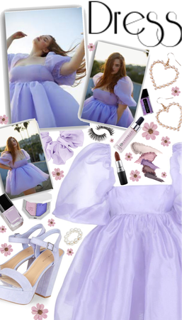 looks in lilac