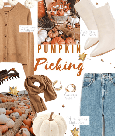 pumpkin picking !