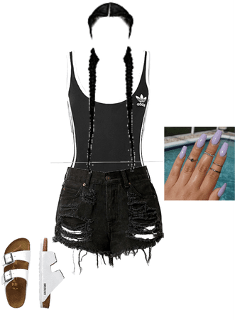 pool day cool outfit