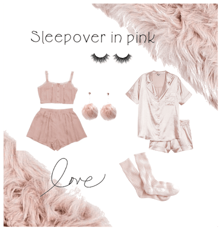 Sleepover in pink