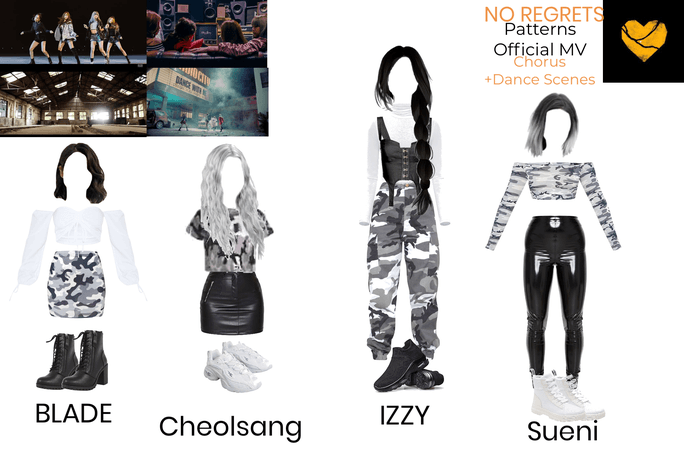 Patterns Official MV Outfits
