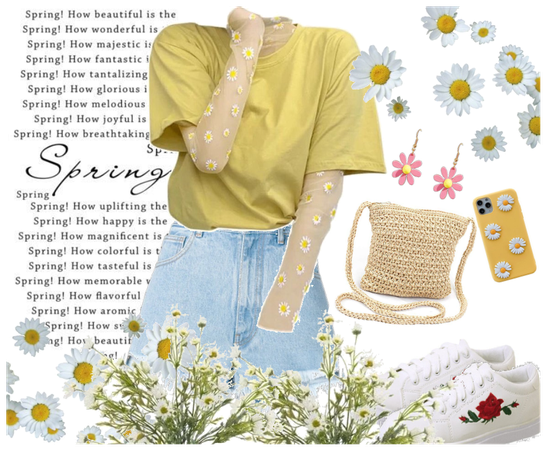 -Spring Outfit for the First Day of Spring!