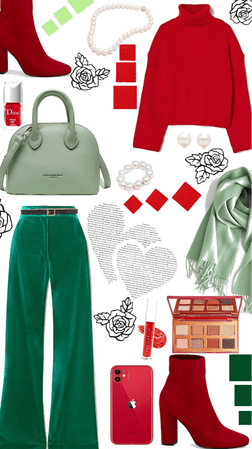 ❤️Red and Green💚