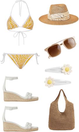 beach day 🟡