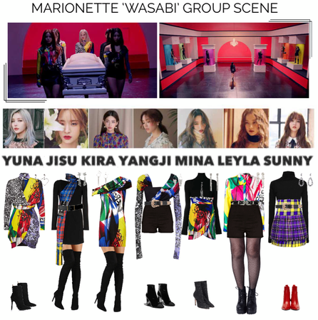 {MARIONETTE} 'Wasabi' M/V Group Scene
