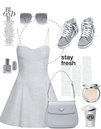 #greychallenge #grey #greyoutfit #simplysweet
