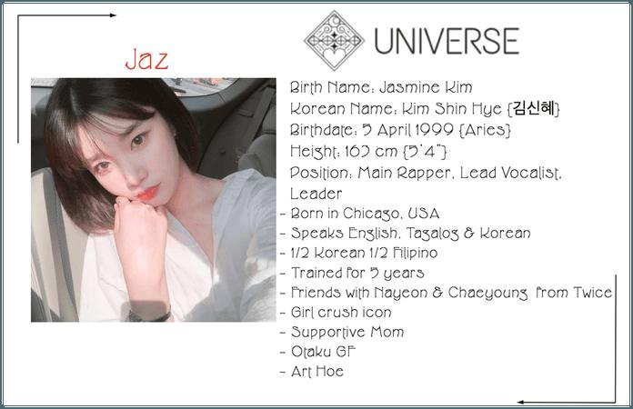 Universe Jaz Profile