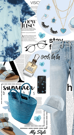 What I'm Wearing | Tie Dye and Denim
