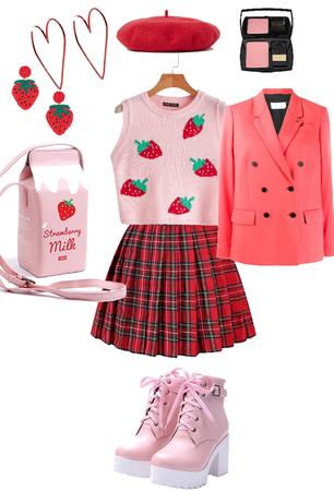 90s strawberry shortcake