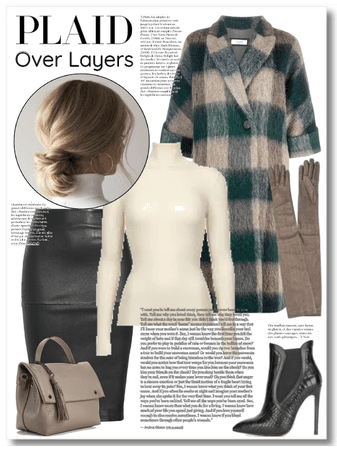 Plaid Over Layers