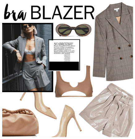Bra & Blazer
