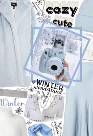 Pretty, Pastel, Winter Wonderland ❄☃❄☃