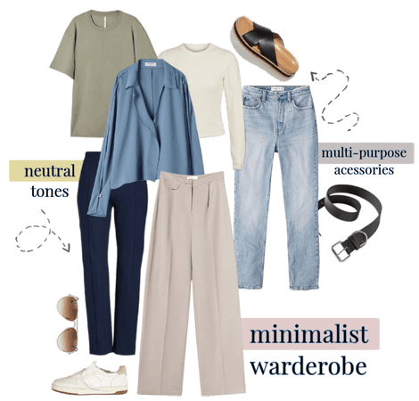 minimalist warderobe