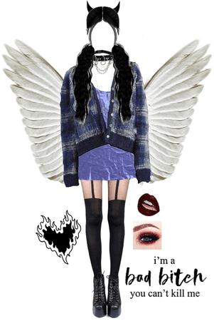 fallen blue angel