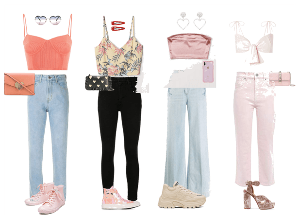 casual and soft ootd