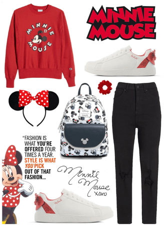 Minnie Mouse🐭❤️🎀 -Disney
