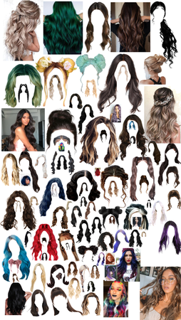 all the hairs I have