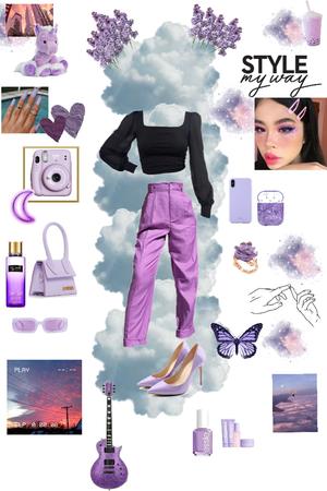 inspiration violet