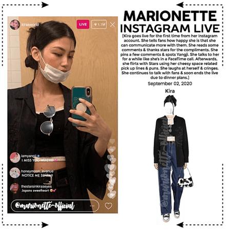 MARIONETTE (마리오네트) [KIRA] Instagram Live