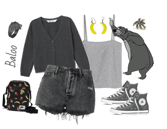 Baloo outfit - Disneyboundings - Disney