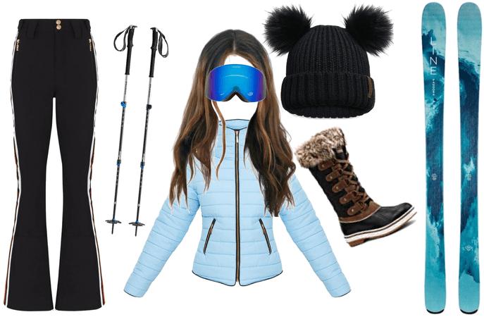 Ski outfit challenge