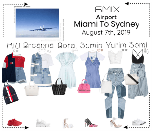 《6mix》Airport | Miami To Sydney