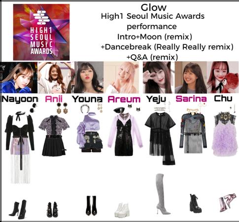 Glow High1 Seoul Music awards performance
