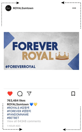 ROYALS [감청색] Instagram Update