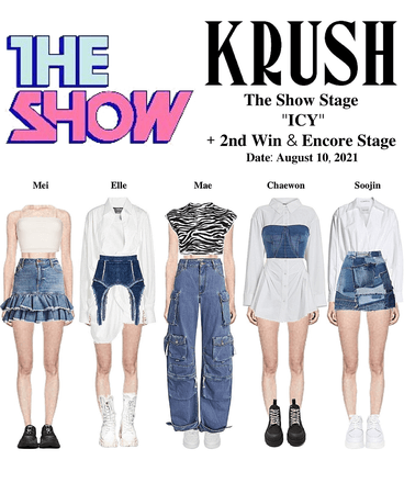 """KRUSH The Show Stage """"ICY"""" + 2nd Stage + Encore Stage"""