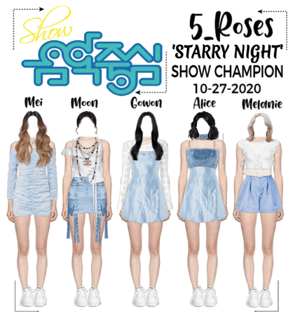 5ROSES 'Starry Night' SHOW CHAMPION Stage