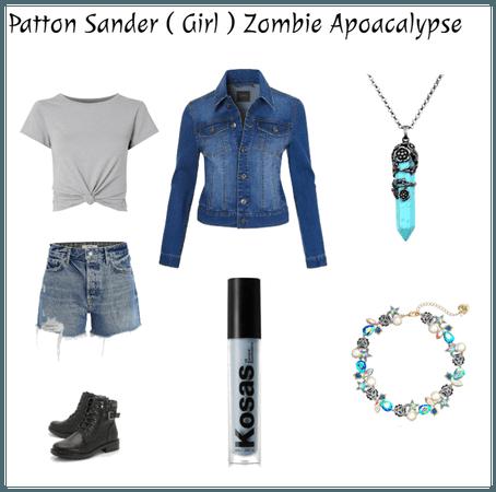 Patton Sander ( Girl ) Zombie Apocalypse