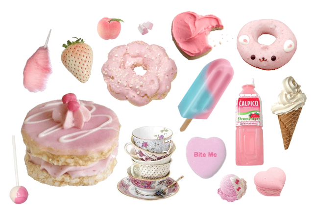 pink sweets