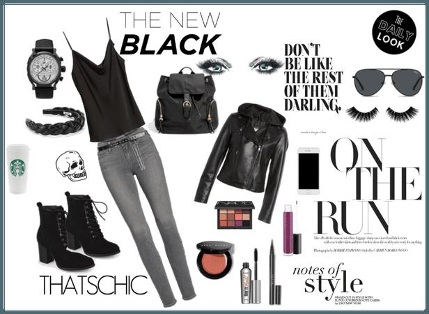 Black, Bike, Beauty