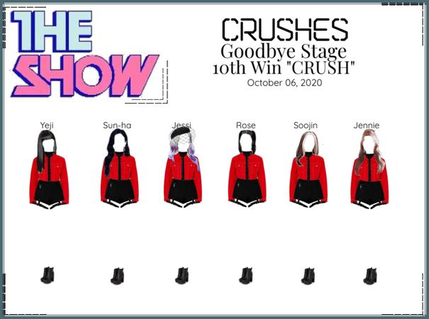 "Crushes (호감) ""CRUSH"" Goodbye Stage 10th Win"