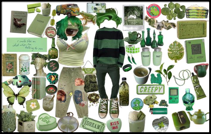 green as in genderfluid