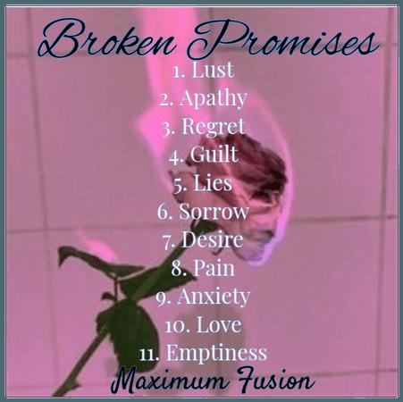 broken promises song list