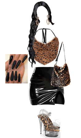 too much leopard? maybe. maybe not.