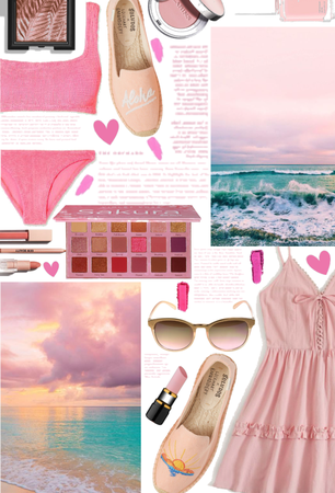 Pink by the Beach Flats