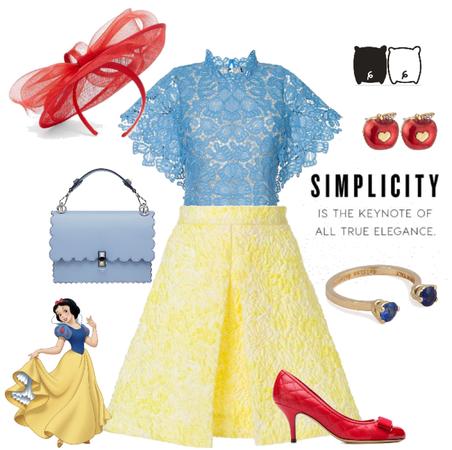 Disney Snow White Inspired Dapper Day