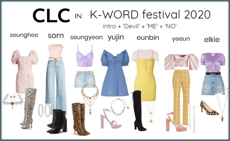 CLC festival outfit