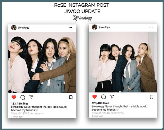 {RoSE} [Jiwoo] Official Instagram Post
