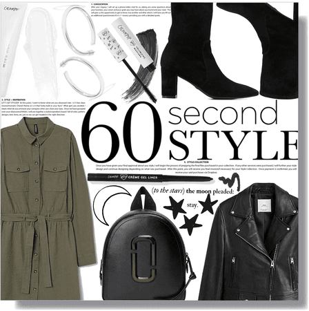 60 second style: button up dress