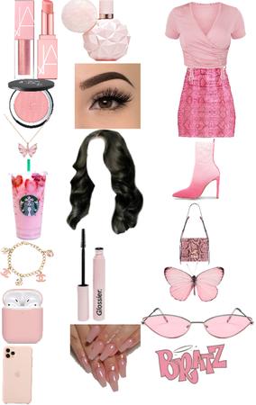 pink Barbie baddie