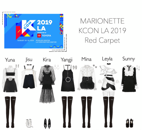 MARIONETTE (마리오네트) KCON Los Angeles 2019 | Red Carpet